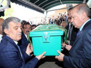 Abdullah Gül'ün babası son yolculuğuna uğurlandı!