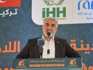 Yapıcıoğlu, Çocuk Yaşam merkezinin açılışına katıldı