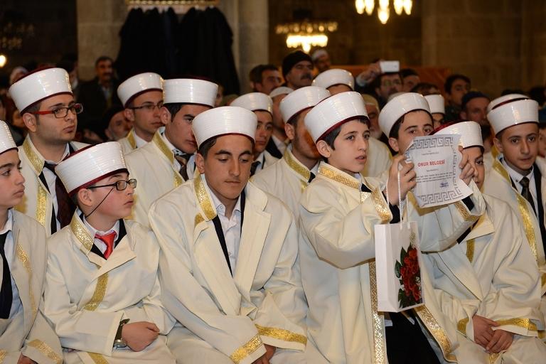 Erzurum öğrenciler icazetlerini aldı galerisi resim 3