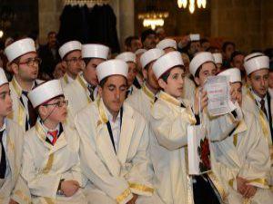 Erzurum öğrenciler icazetlerini aldı