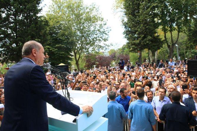 Erdoğan: Bu ülkede ezanları susturmaya kimsenin gücü yetmeyecek! galerisi resim 1