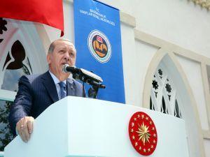 Erdoğan: Bu ülkede ezanları susturmaya kimsenin gücü yetmeyecek!