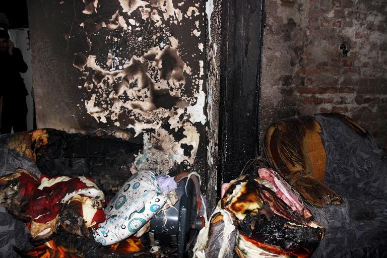 Sur'u terk etmek isteyen bir ailenin evi ateşe verildi galerisi resim 7