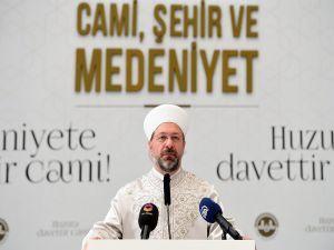 """Erbaş: """"Camiler bir İslam beldesinin en somut şiarıdır…"""""""