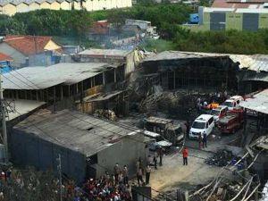 Endonezya'daki patlamada ölenlerin sayısı 47'ye yükseldi