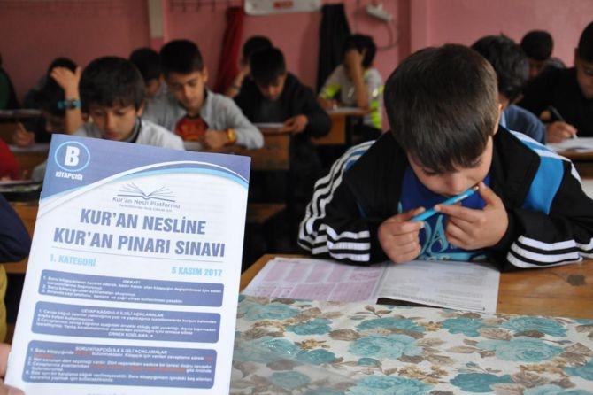 On binler 'Kur'an Pınarı'nda sınav heyecanını yaşadı galerisi resim 1