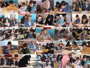 On binler 'Kur'an Pınarı'nda sınav heyecanını yaşadı