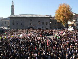Diyarbakır'da 'Kudüs' İntifadası