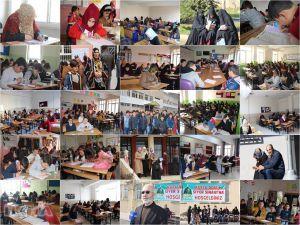 Türkiye genelinde Umre Ödüllü Siyer Sınavı yapıldı