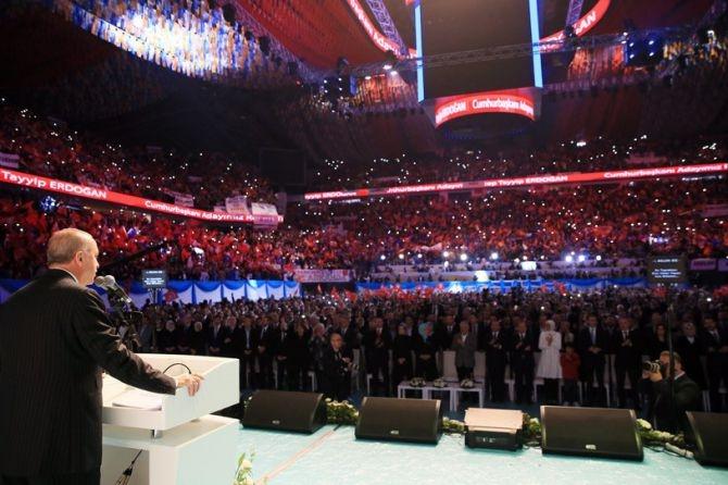 """Erdoğan: """"Biz sadece Allah'ın huzurunda eğildik"""" galerisi resim 1"""