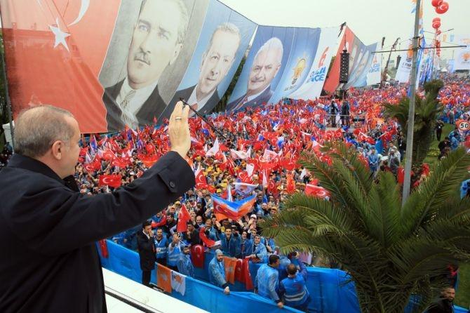 """Erdoğan: """"Biz sadece Allah'ın huzurunda eğildik"""" galerisi resim 11"""