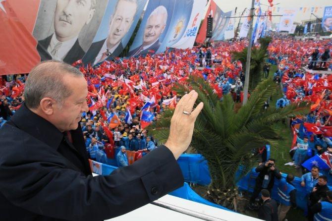 """Erdoğan: """"Biz sadece Allah'ın huzurunda eğildik"""" galerisi resim 12"""