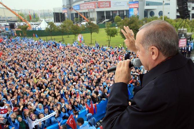 """Erdoğan: """"Biz sadece Allah'ın huzurunda eğildik"""" galerisi resim 14"""