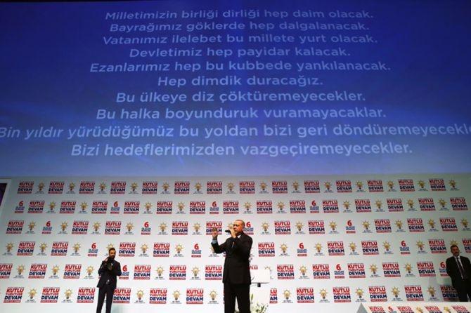 """Erdoğan: """"Biz sadece Allah'ın huzurunda eğildik"""" galerisi resim 5"""
