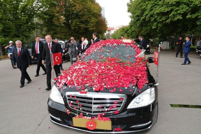 Cumhurbaşkanı Erdoğan, TBMM Genel Kurulu'nda yemin ederek göreve başladı galerisi resim 15