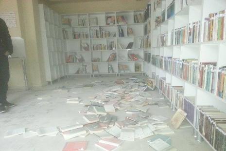 Okula daldı ne varsa kırdı galerisi resim 7