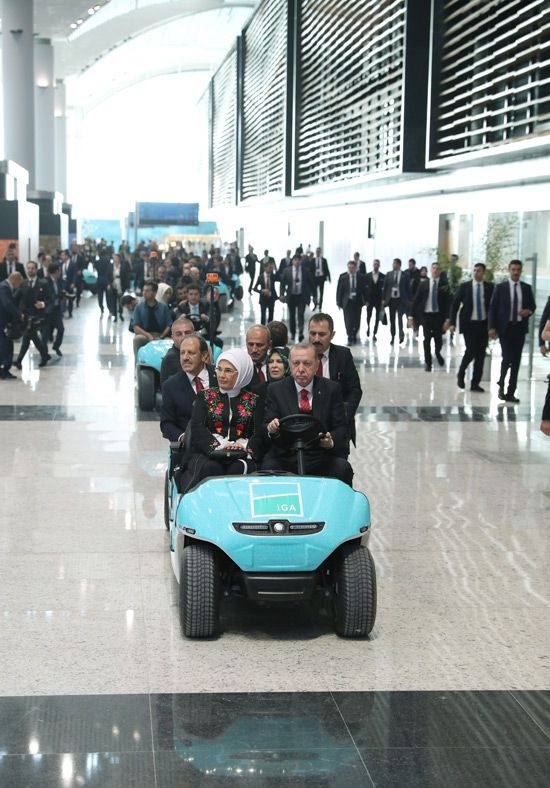 Erdoğan, Yeni Havalimanı'nın ismini açıkladı galerisi resim 12