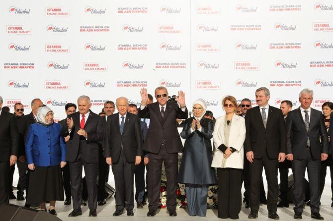 """""""Yenikapı ruhu, İstanbul'u fethedip bize emanet eden ruhun deva galerisi resim 1"""