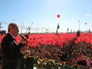 """""""Yenikapı ruhu, İstanbul'u fethedip bize emanet eden ruhun deva"""