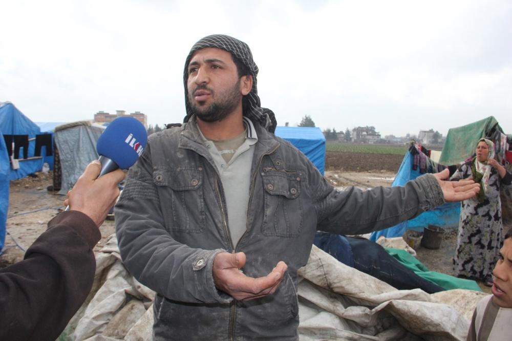 Suriyelilerin çamur içerisinde yaşam mücadelesi galerisi resim 1