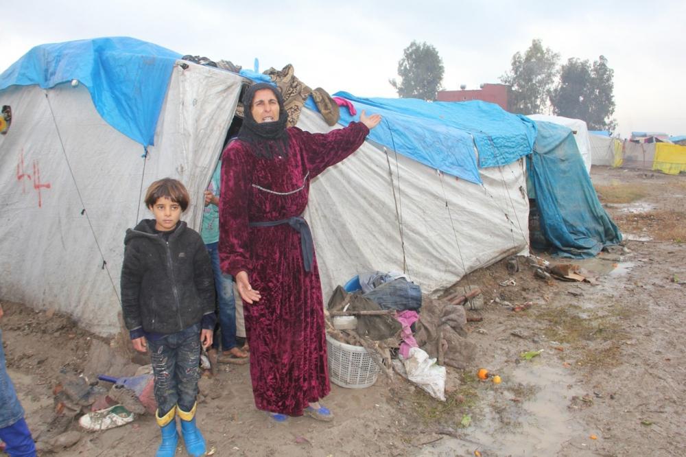 Suriyelilerin çamur içerisinde yaşam mücadelesi galerisi resim 14