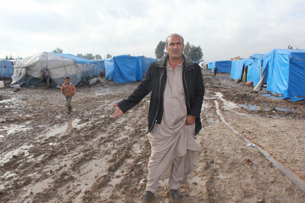 Suriyelilerin çamur içerisinde yaşam mücadelesi galerisi resim 18