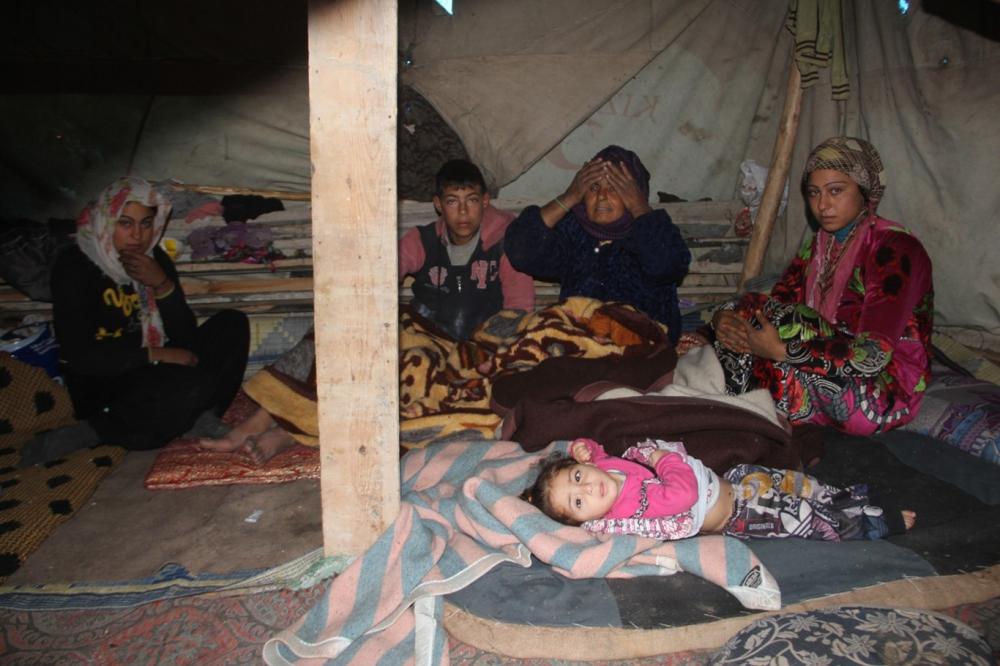 Suriyelilerin çamur içerisinde yaşam mücadelesi galerisi resim 4
