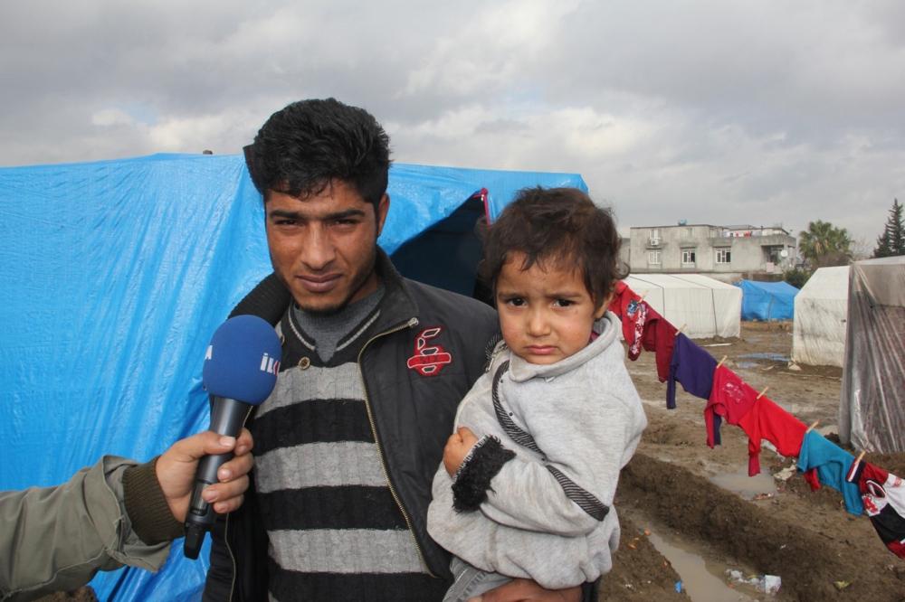 Suriyelilerin çamur içerisinde yaşam mücadelesi galerisi resim 6