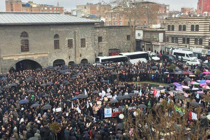 Diyarbakır'da siyonist şer planı telin edildi galerisi resim 2