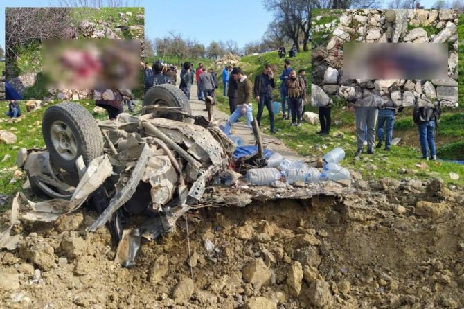 PKK'nın katlettiği köylülerden geriye ceset parçaları kaldı! galerisi resim 1