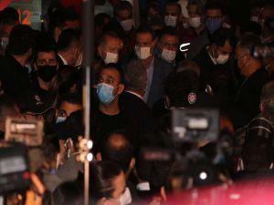 Cumhurbaşkanı Erdoğan arama kurtarma çalışmalarını yerinde inceledi