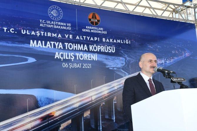 Tohma Köprüsü hizmete açıldı galerisi resim 1
