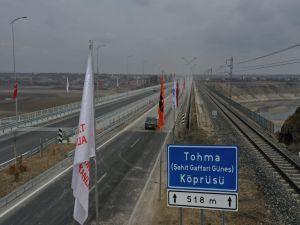Tohma Köprüsü hizmete açıldı