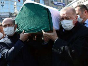 Bakan Soylu'nun vefat eden annesi son yolculuğuna uğurlandı