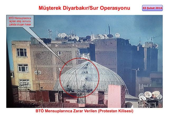 PKK Sur'daki tarihi eserleri yok etti galerisi resim 10