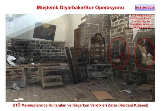 PKK Sur'daki tarihi eserleri yok etti galerisi resim 11