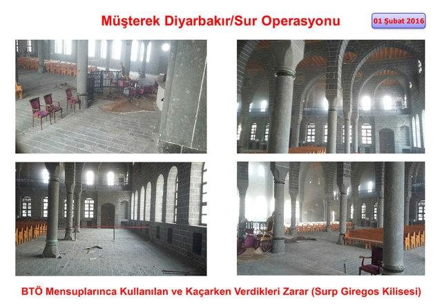 PKK Sur'daki tarihi eserleri yok etti galerisi resim 12