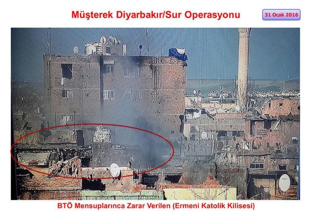 PKK Sur'daki tarihi eserleri yok etti galerisi resim 13