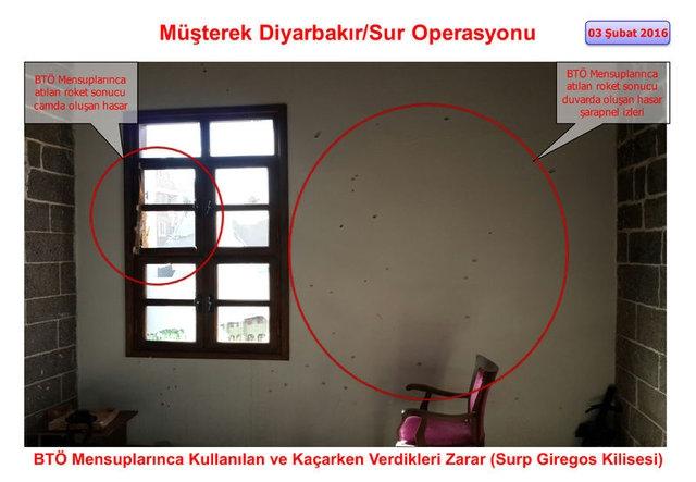 PKK Sur'daki tarihi eserleri yok etti galerisi resim 5