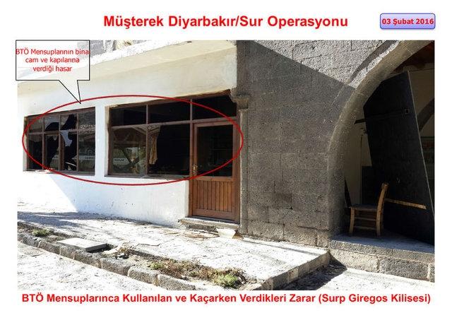 PKK Sur'daki tarihi eserleri yok etti galerisi resim 6