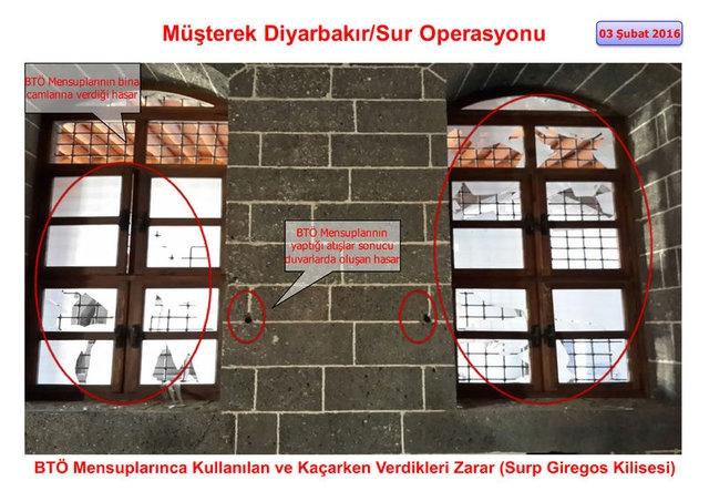 PKK Sur'daki tarihi eserleri yok etti galerisi resim 7