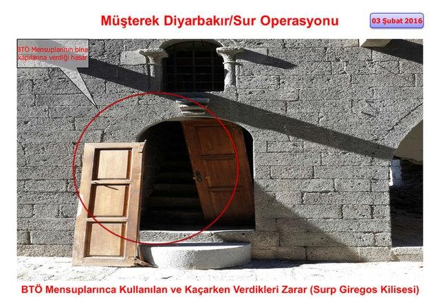 PKK Sur'daki tarihi eserleri yok etti galerisi resim 8