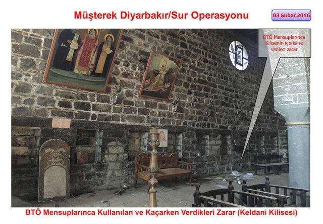 PKK Sur'daki tarihi eserleri yok etti galerisi resim 9