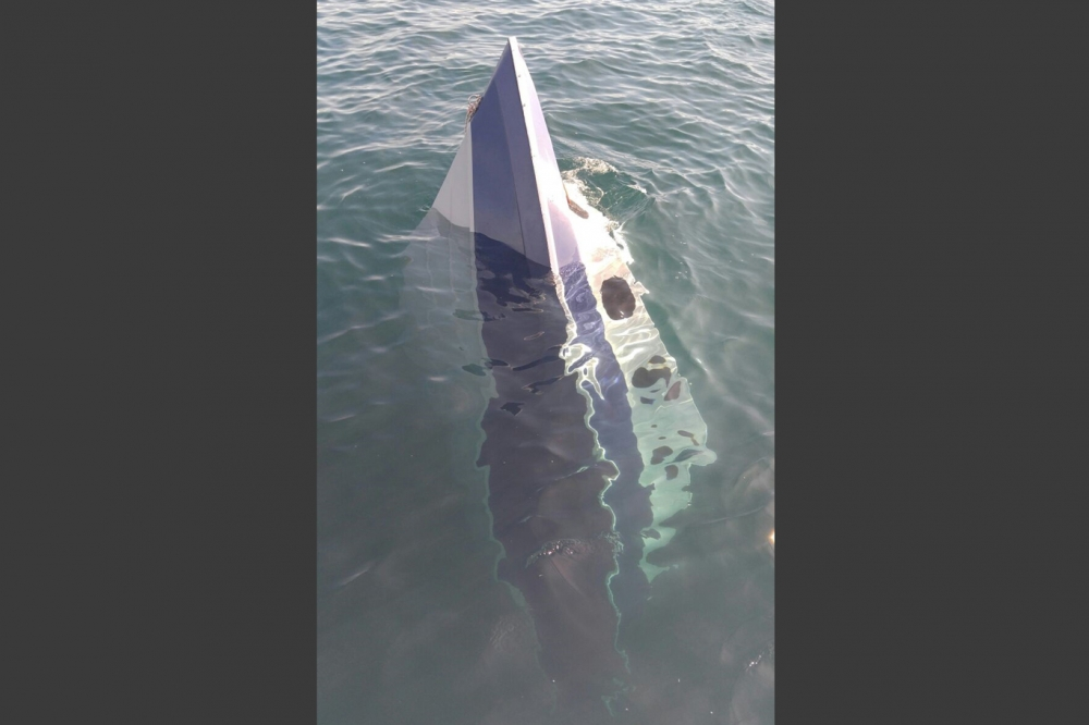 Mültecileri taşıyan teknenin batma anının görüntüleri galerisi resim 1