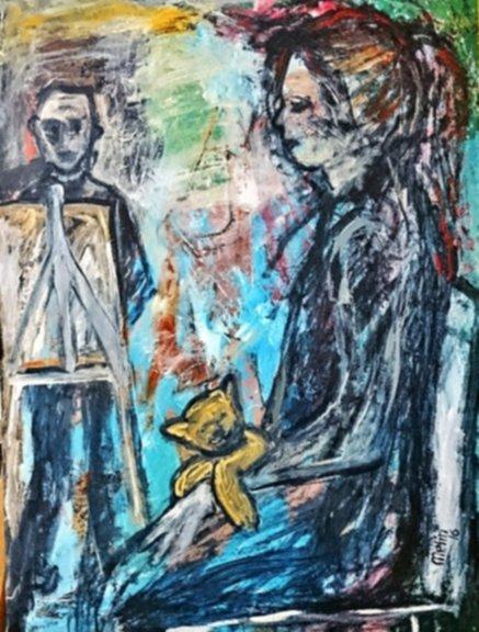 'Mutluluk Zehirlenmesi' Heykel ile resim sergisi galerisi resim 4