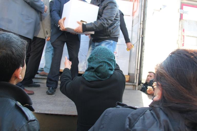 Sur halkına yardım eden İslami STK'lara destek galerisi resim 3