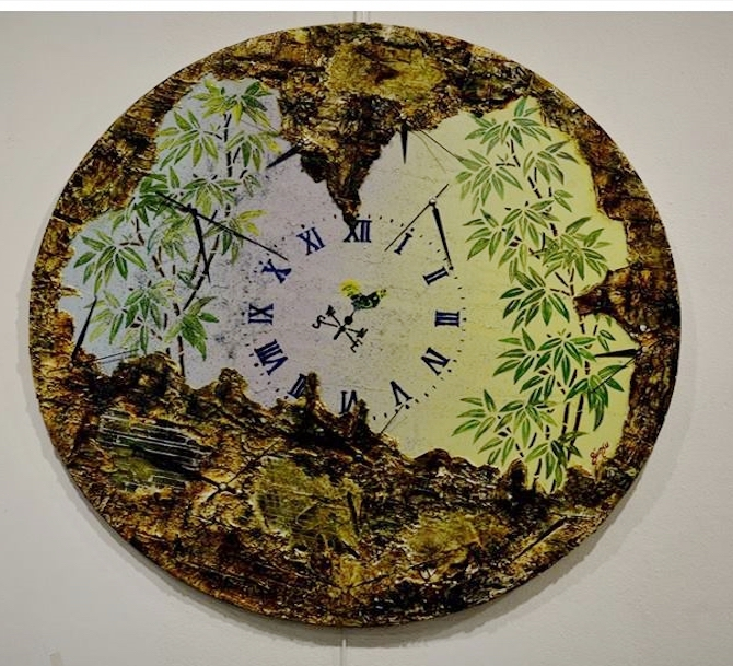 """Ressam Günsu sanatseverleri """"Düş Bahçesi""""'n de buluşturdu galerisi resim 3"""