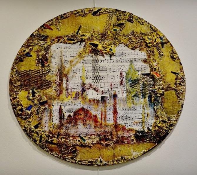 """Ressam Günsu sanatseverleri """"Düş Bahçesi""""'n de buluşturdu galerisi resim 4"""