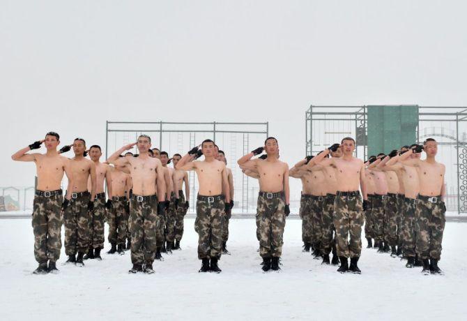 Dünyanın en büyük ikinci ordusu Çin Halk Kurtuluş Ordusu galerisi resim 2