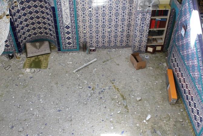PKK Camilerin zarar görmesine sebep oldu galerisi resim 11